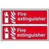 Fire Extinguisher - PVC 300 x 200mm